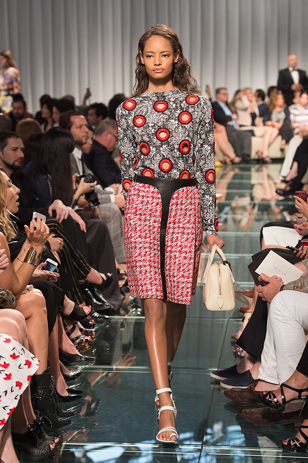 Malaika Firth for Louis Vuitton Cruise Collection 2015 0 Nicolas Ghesquiere
