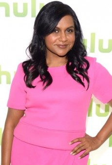 Mindy Kaling is Pretty in Pink Thanks to Finders Keepers
