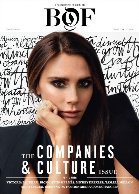 The Business of Fashion Spring 2014 Victoria Beckham