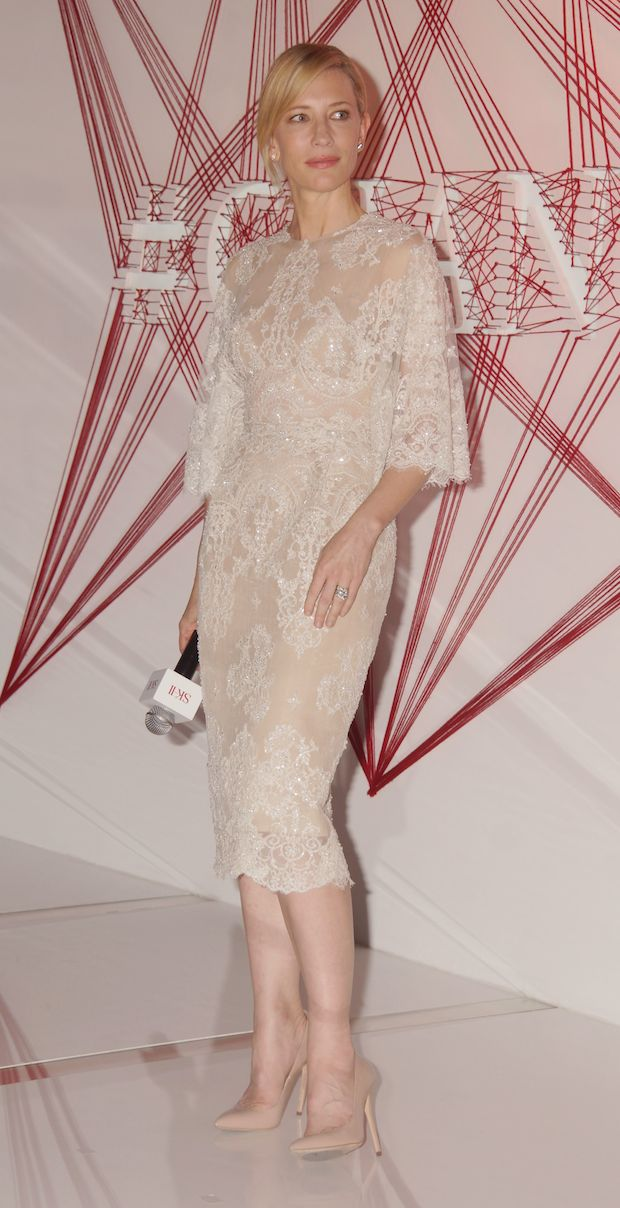Cate Blanchett Ellie Saab SK-II