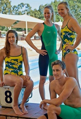 Australian Swim Team Commonwealth Games 2014