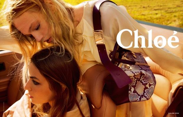 Ad Campaign Chloe Fall 2014 Andreea Sasha Inez & Vinoodh