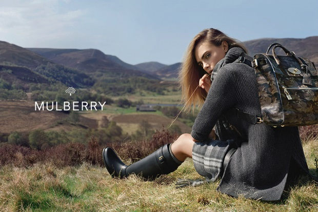 Ad Campaign Mulberry Fall 2014 Cara Delevingne Tim Walker