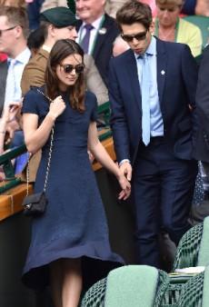 Keira Knightley Nails Laid-Back Luxury at the Wimbledon Women's Finals