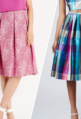 Midi Skirts Shapely