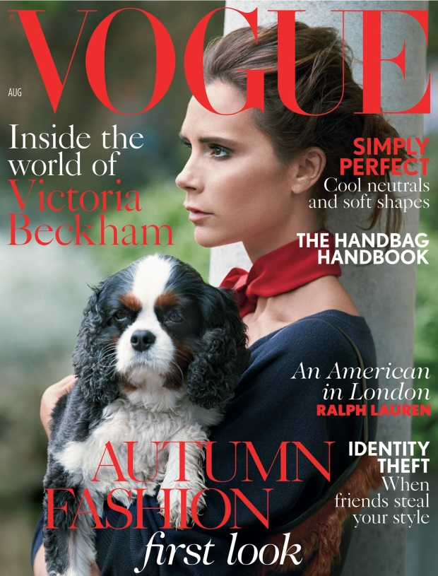 UK Vogue August 2014 Victoria Beckham Patrick Demarchelier