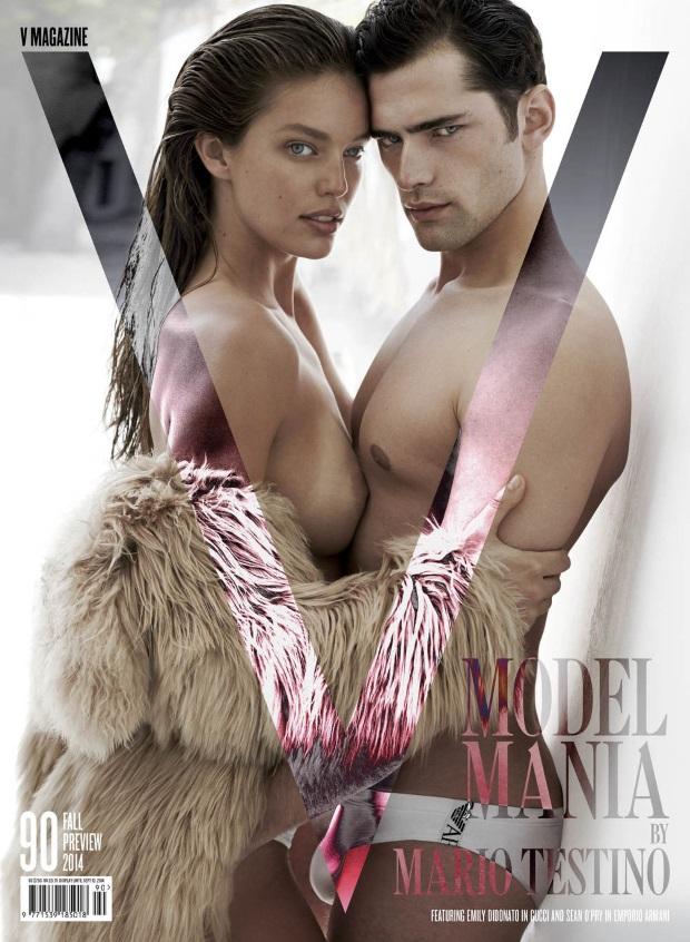 V Magazine Fall Preview 2014 Model Mania by Mario Testino