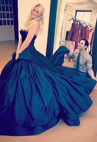 Elyse Taylor Zac Posen Wedding Dress
