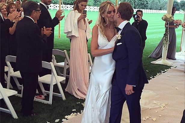 Elyse Taylor Seth Campbell Wedding
