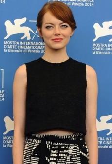 Emma Stone Flaunts Her Festival Style in Proenza Schouler