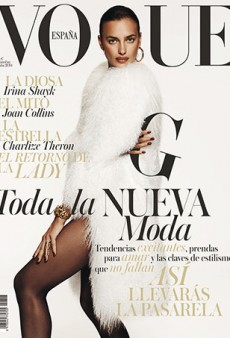 Irina Shayk Covers Vogue Spain Once Again (Forum Buzz)