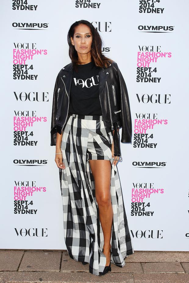 Vogue Fashion's Night Out Lindy Klim