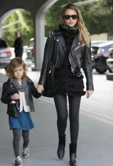 When Celebrities and Their Children Dress Alike