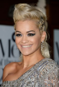 Glam Up Your Evening with Rita Ora's Smoky Eye Look