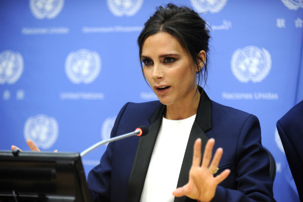 2019 year for lady- Beckham victoria un ambassador