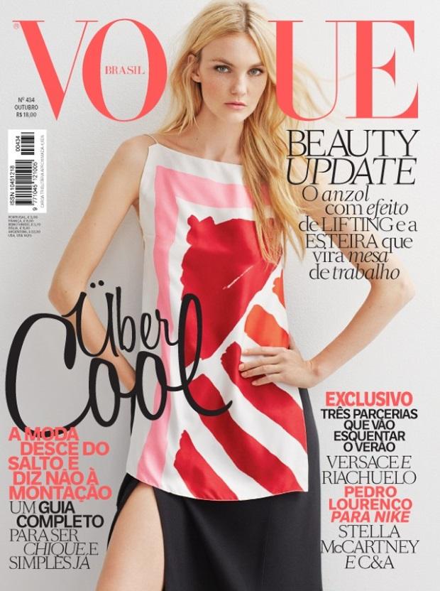Vogue Brazil Oct 14 Caroline Trentini