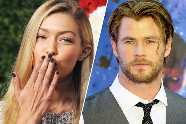 Chris Hemsworth Gigi Hadid