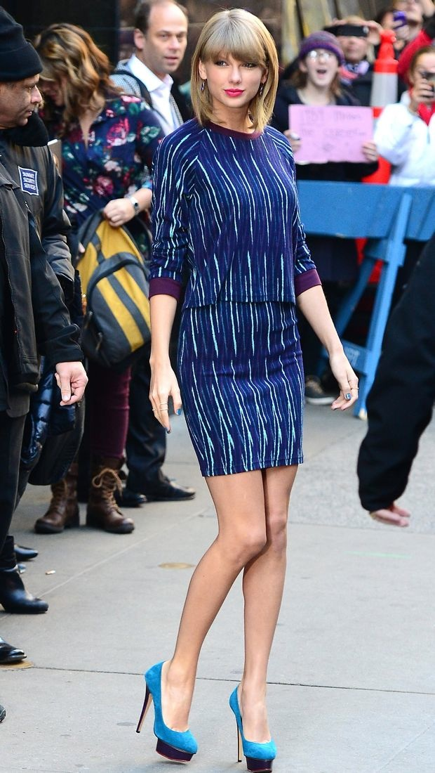 Taylor Swift rocks graphic Miss Patina pieces