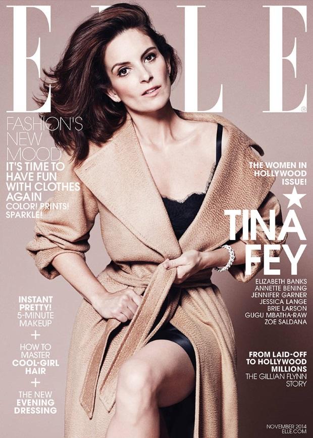 US Elle November 2014 Women In Hollywood