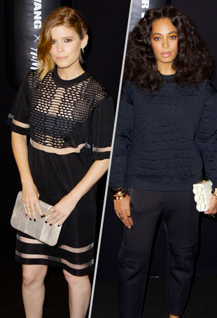 21aba3aebaa Stars Get Sporty for Last Night s Alexander Wang x H M Fashion Show