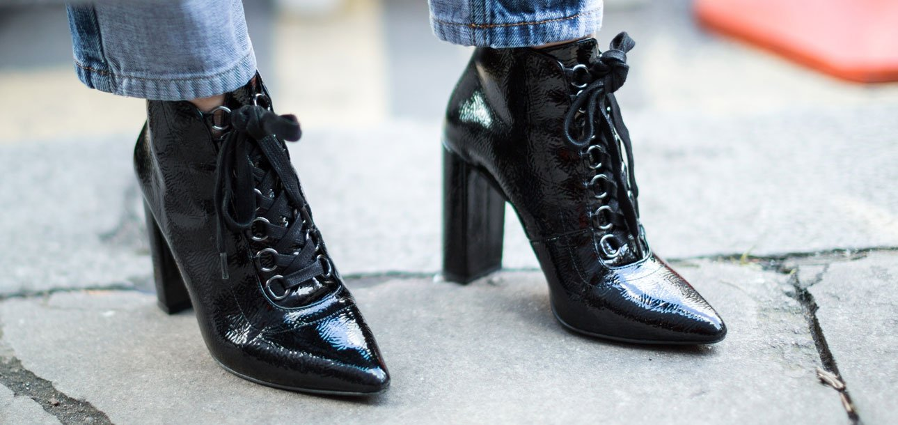 how to wear ankle boots with pants