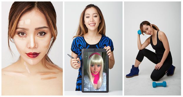 Photos of Michelle Phan makeup