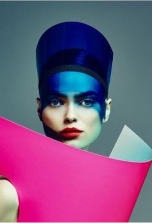 Concept/Art Direction: Glamcult Studio, Photography: Jouke Bos, c Witman Kleipool, Styling: Maaike Staal, Hair/Make-up: Liselotte van Saarloos c Eric Elenbaas Agency, Model: Sophie Vlaming c WW MM