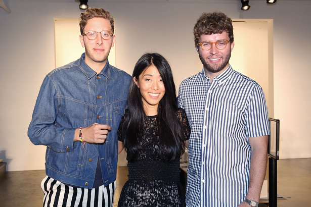 Alan Eckstein with Donna Kang and Timo Weiland