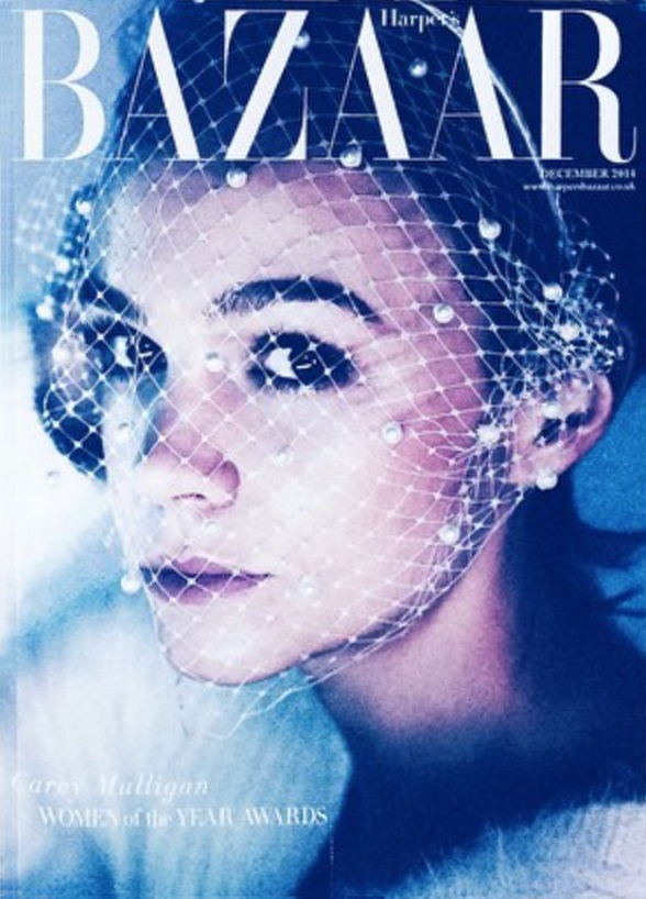 UK Harper's Bazaar December 2014 Carey Mulligan