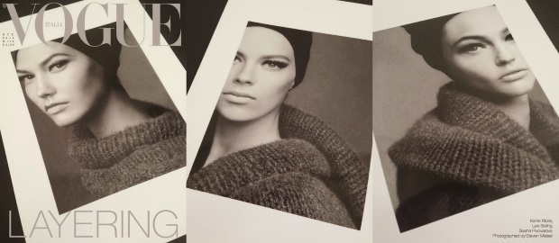 Vogue Italia October 2014 Steven Meisel