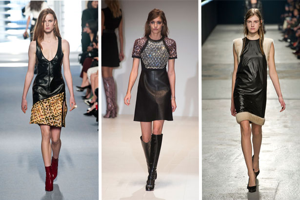 Trending Leather Dresses Thefashionspot