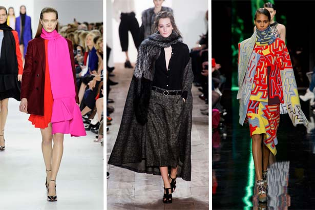 Christian Dior Fall 2014, Michael Kors Fall 2014, Peter Pilotto Fall 2014