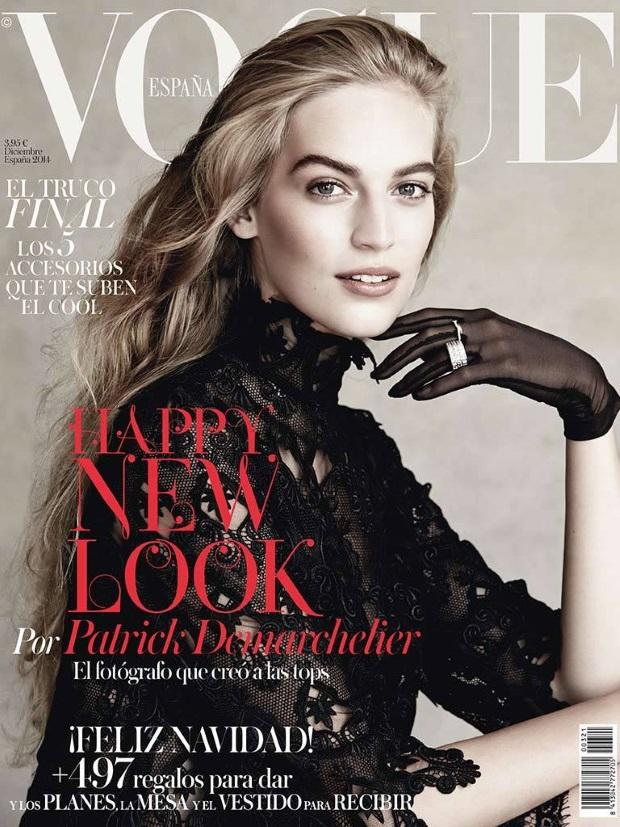 Vogue Spain December 2014 Vanessa Axente Patrick Demarchelier