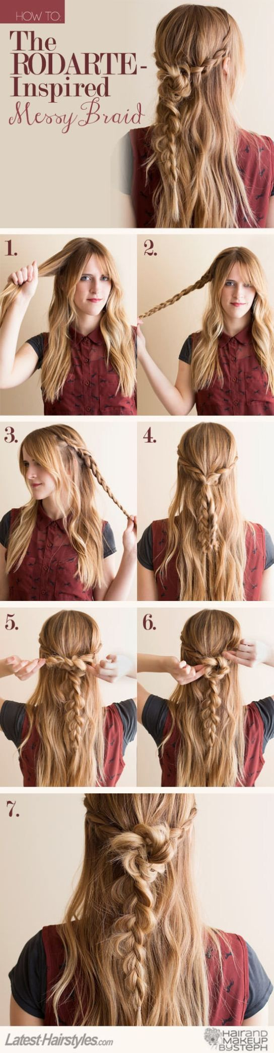 Fashion style Hair holiday tutorials pinterest for woman