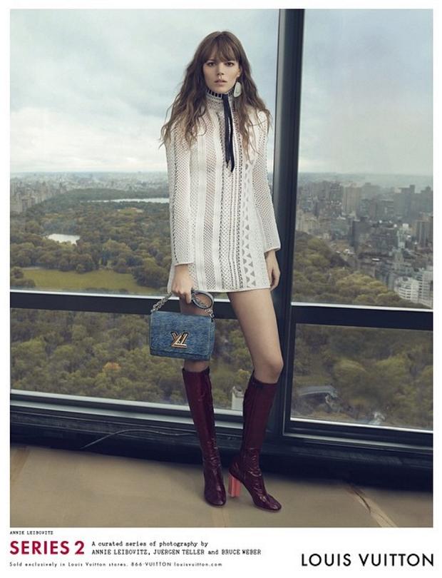 Ad Campaign Louis Vuitton Spring 2015 Freja Beha Erichsen