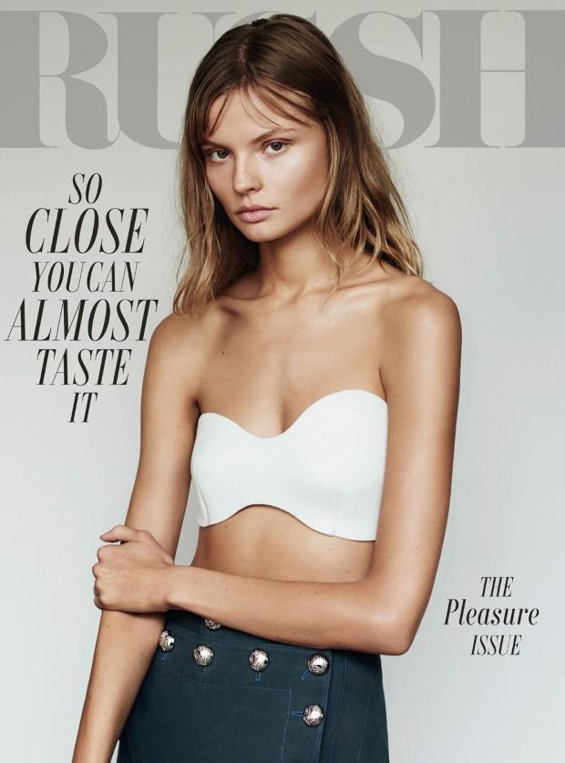 Russh Magazine January 2015 Magdalena Frackowaik