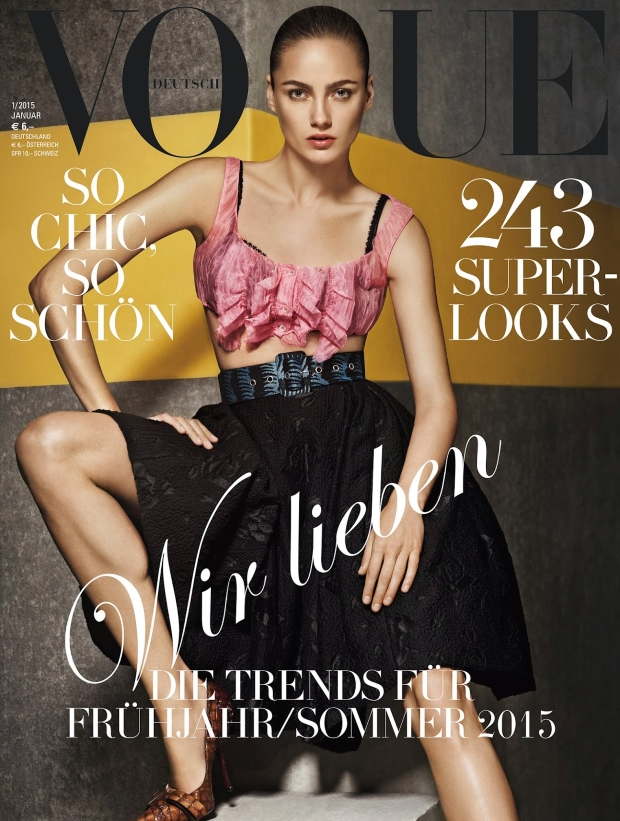 Vogue Germany January 2015 Giampaolo Sgura