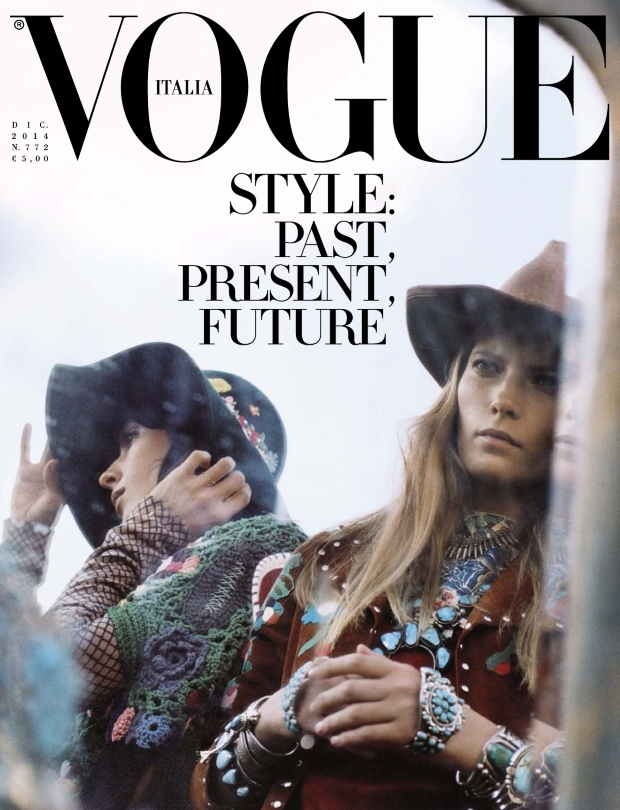 Vogue Italia December 2014 Steven Meisel