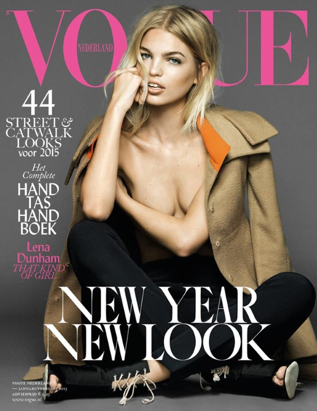 Vogue Netherlands January 2015 February 2015 Daphne Groeneveld