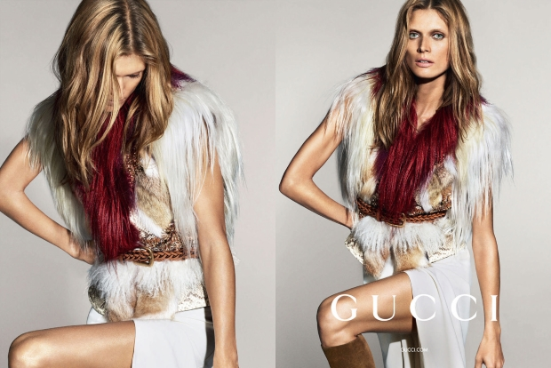 Ad Campaign Gucci Spring 2015 Malgosia Bela