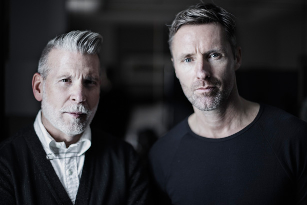 Nick Wooster,Peter Simonsson, The Woolmark Company Managing Director; Image: Courtesy