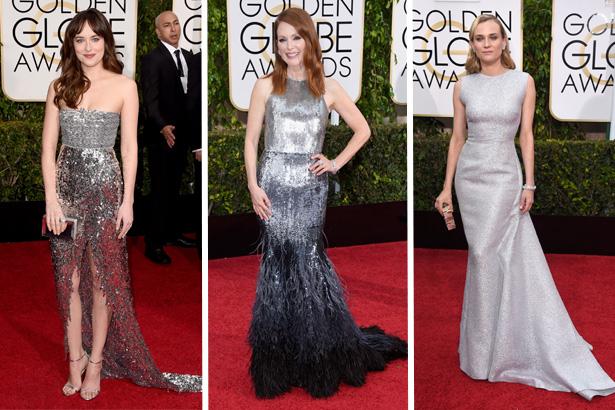 Dakota Johnson, Julianne Moore, Diane Kruger; Image: Getty