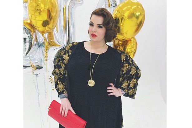 Size 22 Tess Holliday Makes Plus