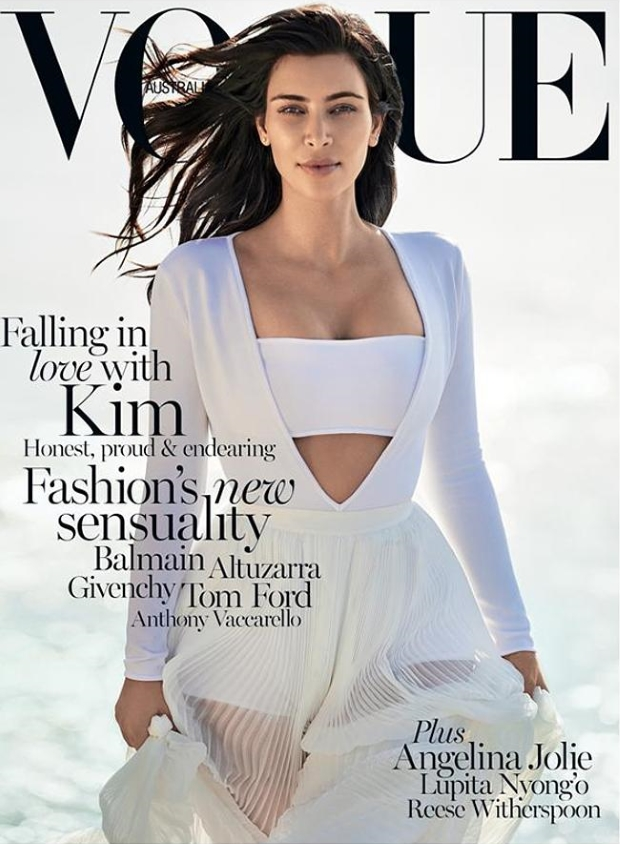 Vogue Australia February 2015 Kim Kardashian