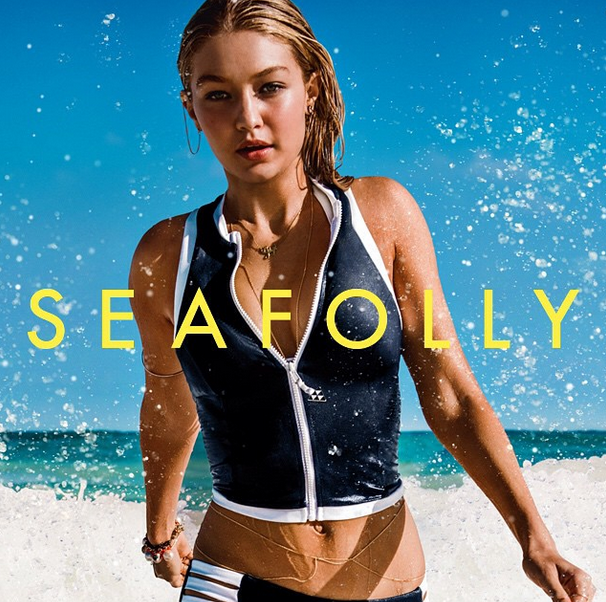 4739e3c873f3a Gigi Hadid is the New Face of Seafolly - theFashionSpot