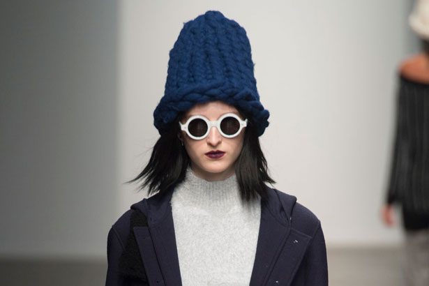 beanie at Timo Weiland Fall 201