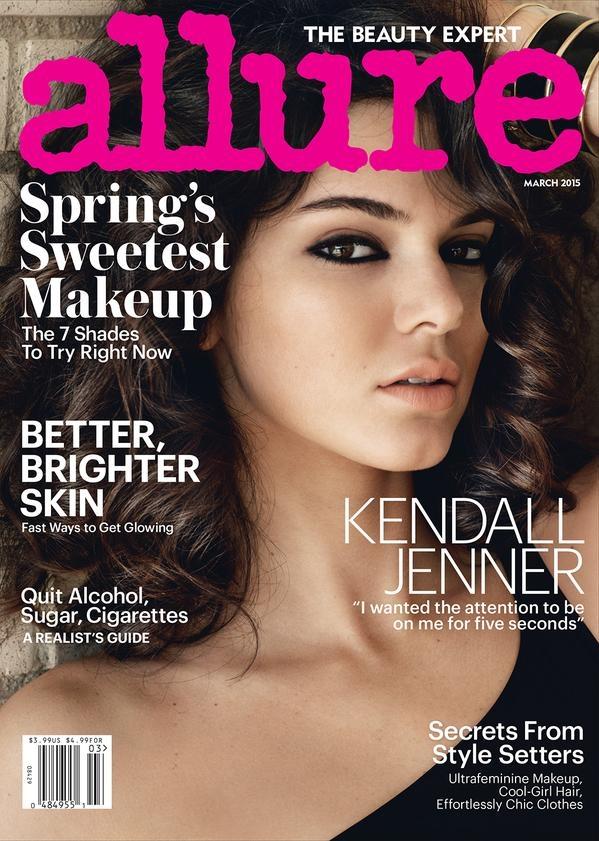 Allure March 2015 Kendall Jenner Mario Testino