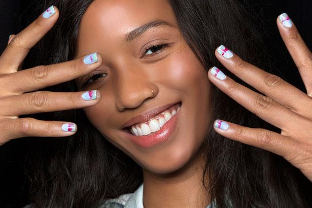 rebecca minkoff spring 2015 nails