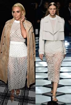 Runway to Real Life: Kim Kardashian in Balenciaga, Anna Dello Russo in DSquared2 and More (Forum Buzz)