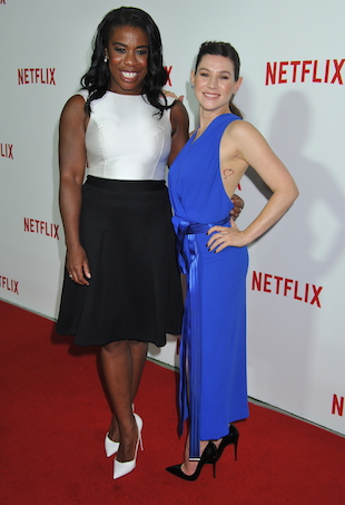 Uzo Abuda and Yael Stone